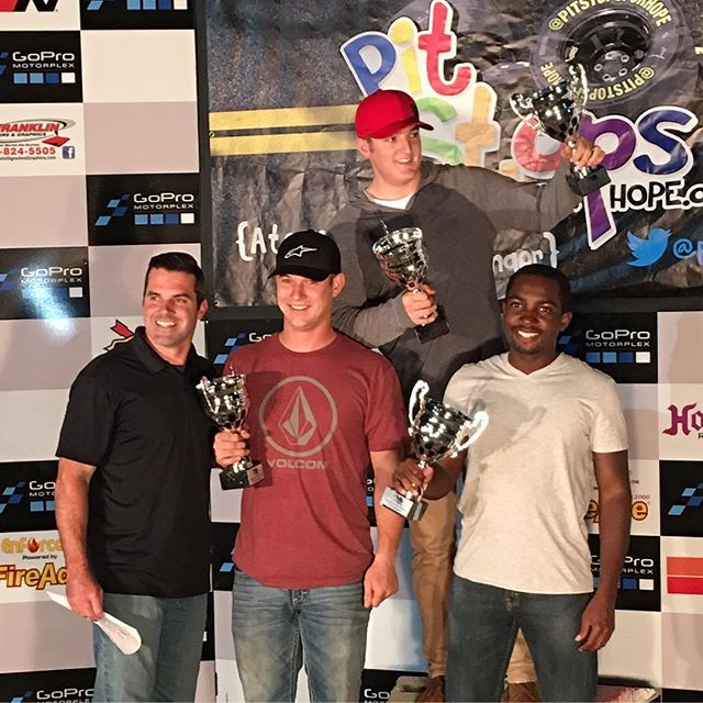 The 2016 Pit Stops for Hope Shootout to End Child Poverty Champions! Team Ty Dillon.