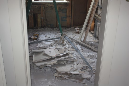 Gutted bathroom #2