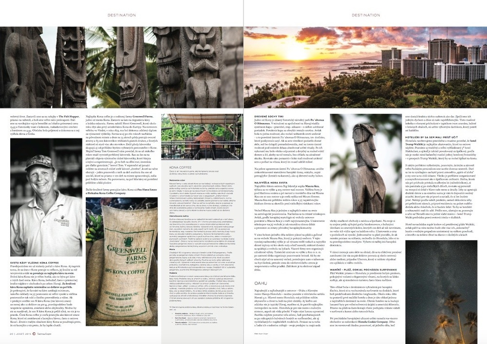 Taste & Enjoy magazine AW/2015: Hawaii - Photo by BGeigs Photography