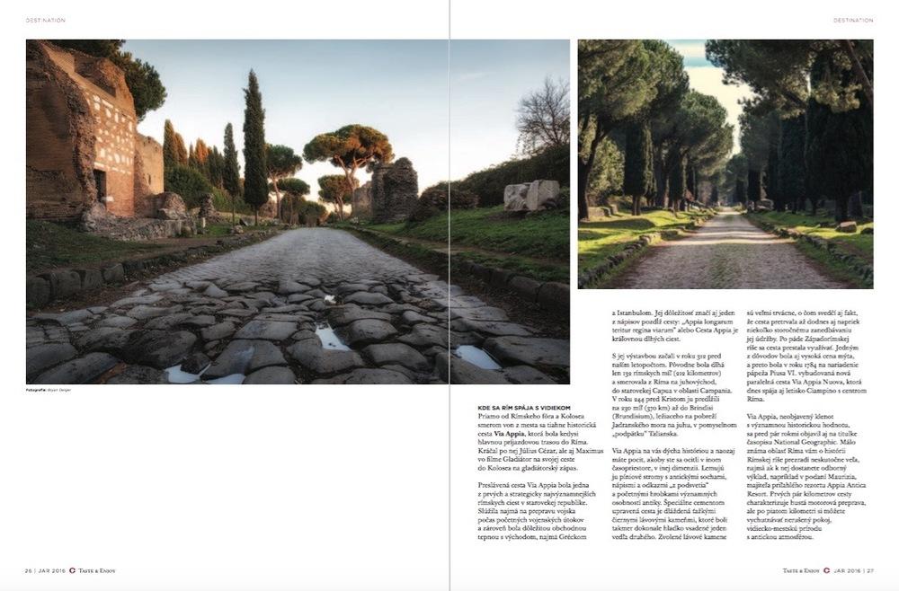 Via Appia Antica -Rome, Italy