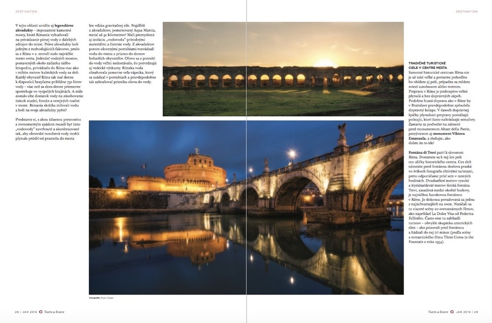 Via Appia Antica & Castel Sant'Angelo -Rome, Italy