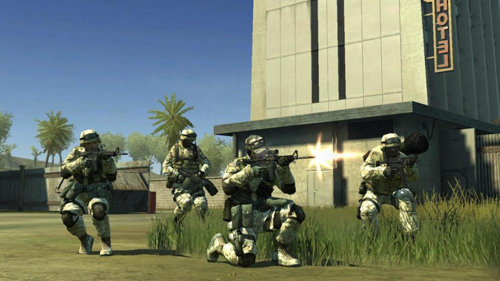 Battlefield 2 PC. Level Art, Textures, Lighting