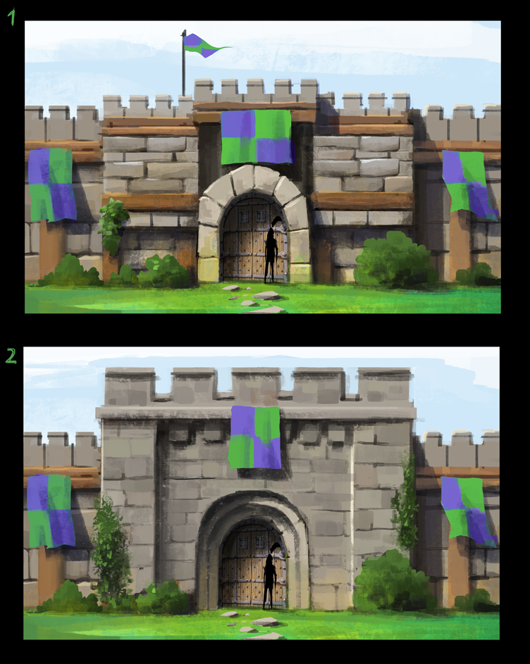 Town Wall concepts