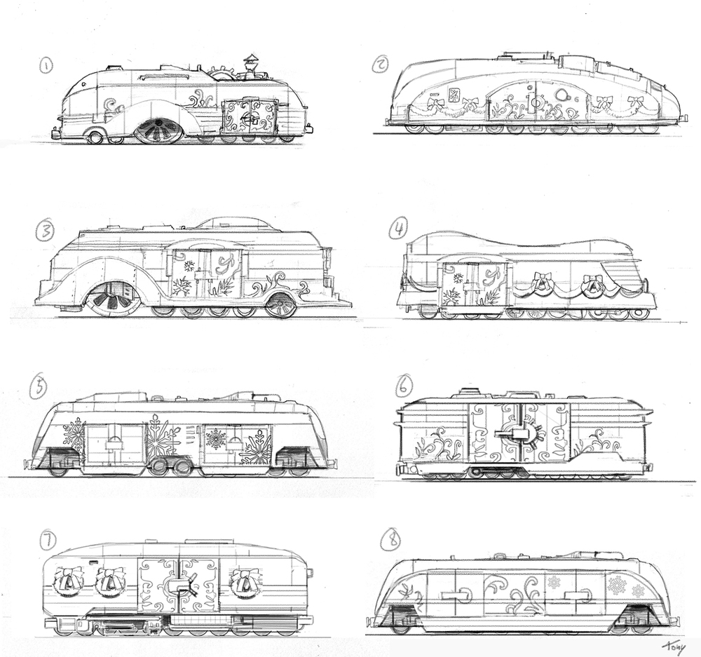 We also needed to design the wagon.