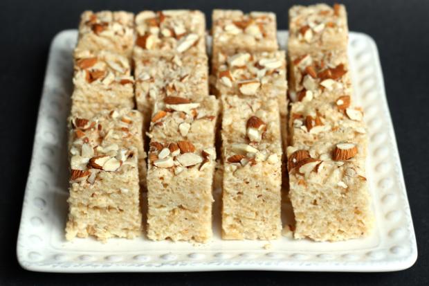 Almond Rice Krispie Treats from BetsyBakes.com