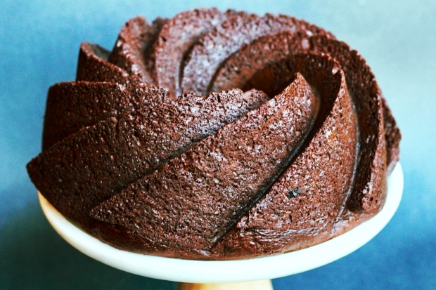 Express Chocolate Espresso Bundt Cake from BetsyBakes.com
