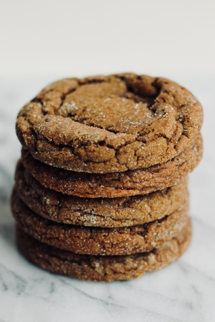 molasses cookies from betsybakes.com