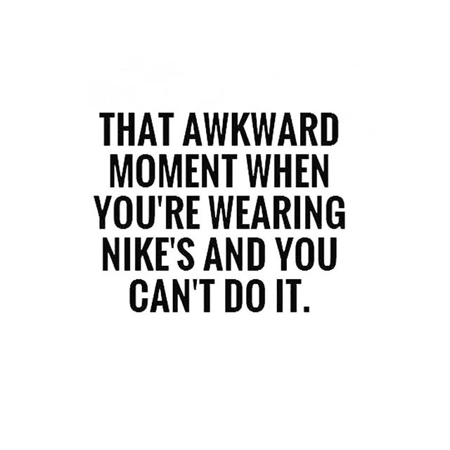 Or when you pack a brand new pair in your suitcase with the intention of bringing some fitness back into your life... only to be unpacking them again 4 weeks later and they're still brand new 😳 #itsbeenwaytoolong #ineedtogetmygrooveon #itsbeenyears #beforethebaby #timepoor #prefersleep #wanttofeelstrongandhealthyagain #justdoit #packawaythelaptop #stopmakingexcuses