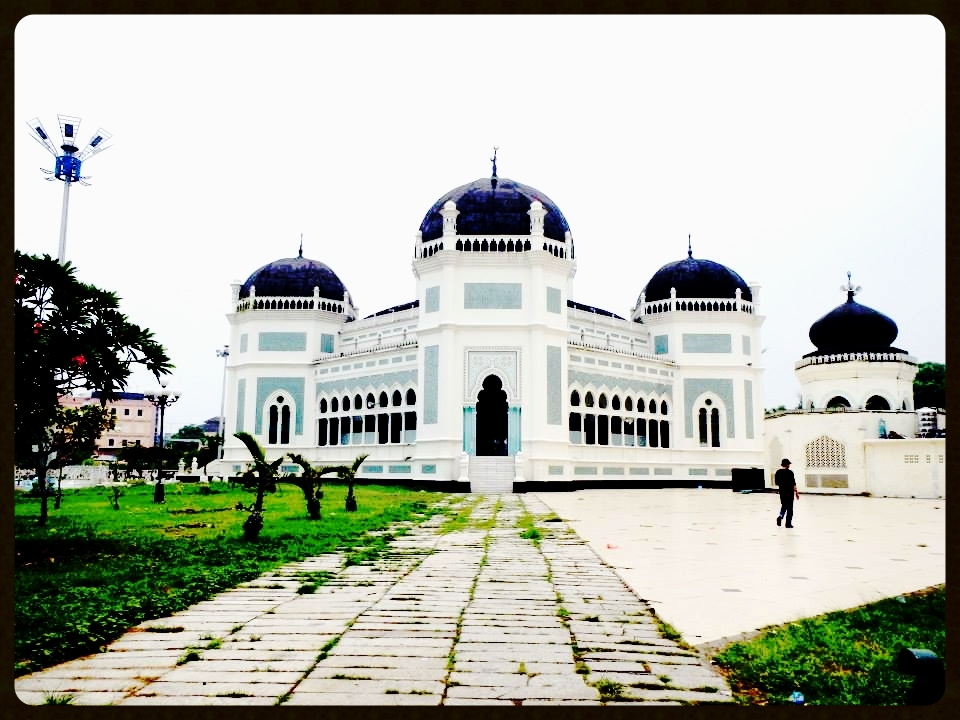 Mosque in Medan, Indonesia