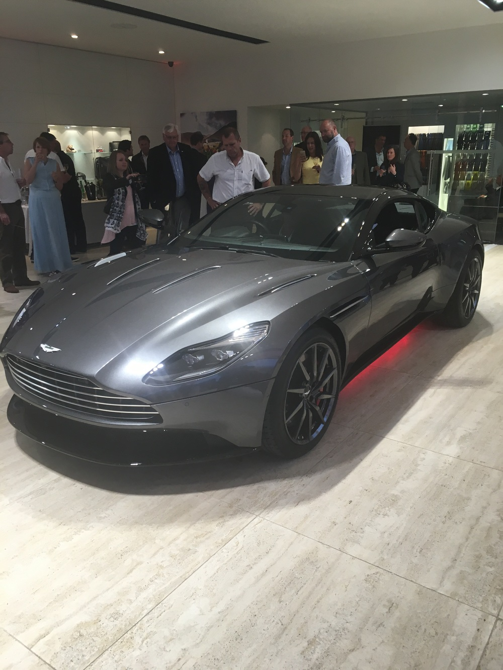 Here it is - Aston Martin DB11