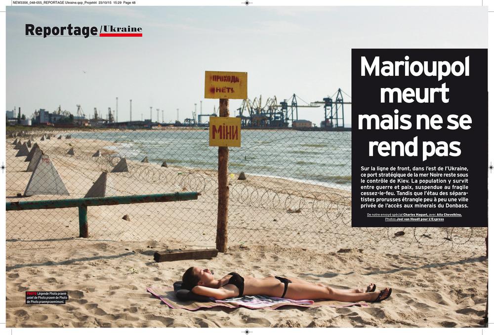 L'Express, October 28, 2015