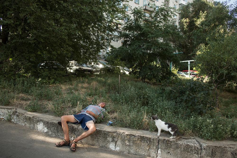 Ukraine, Mariupol, August 7, 2015