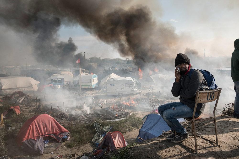 France, Calais, October 26, 2016