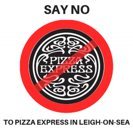 NO TO PIZZA EXPRESS IN LEIGH-ON-SEA #coworking #office #leigh #desks #deskhire