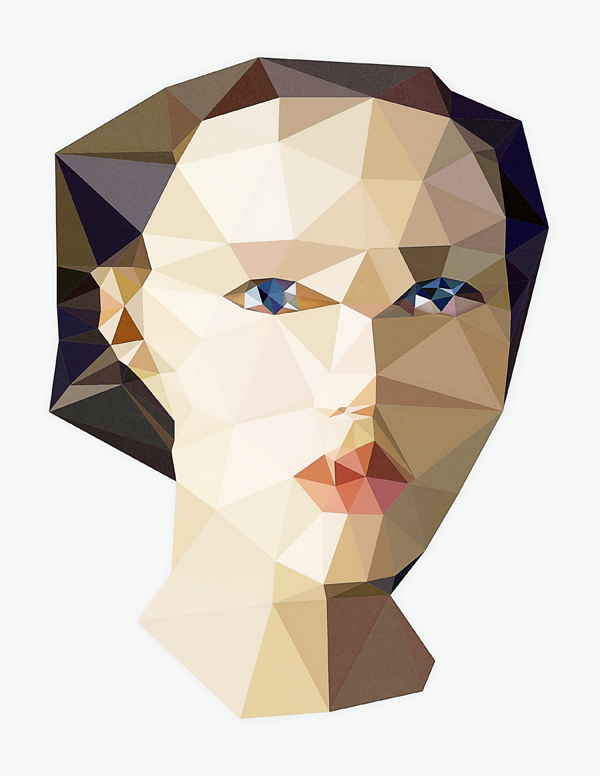 Sabina Radeva, Triangulation Woman Portrait, 2015