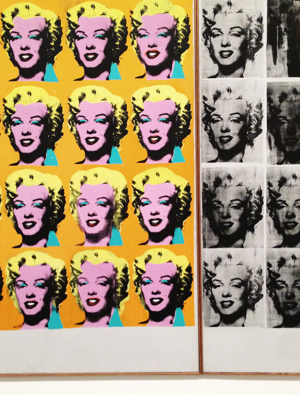 Andy Warhol, Marilyn Diptych, 1962. Tate Modern Museum. Photo by Sabina Radeva 2015.