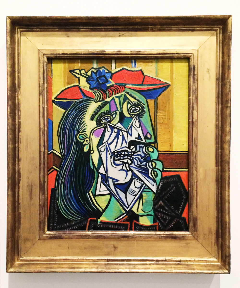 Pablo Picasso,  Weeping Woman , 1937. Tate Modern Museum. Photo by Sabina Radeva 2015.