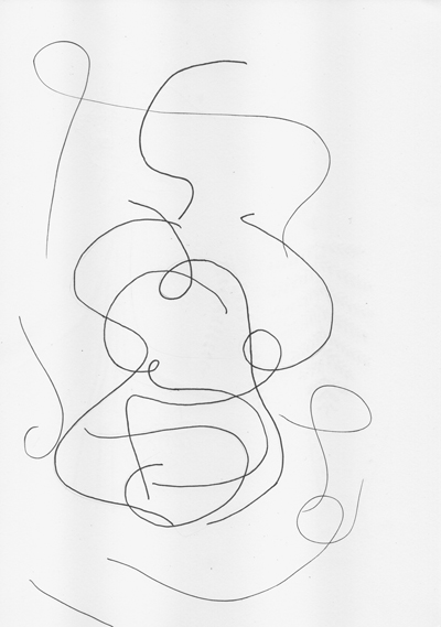 Sabina Radeva, Automatic Drawing Sketch, 2015