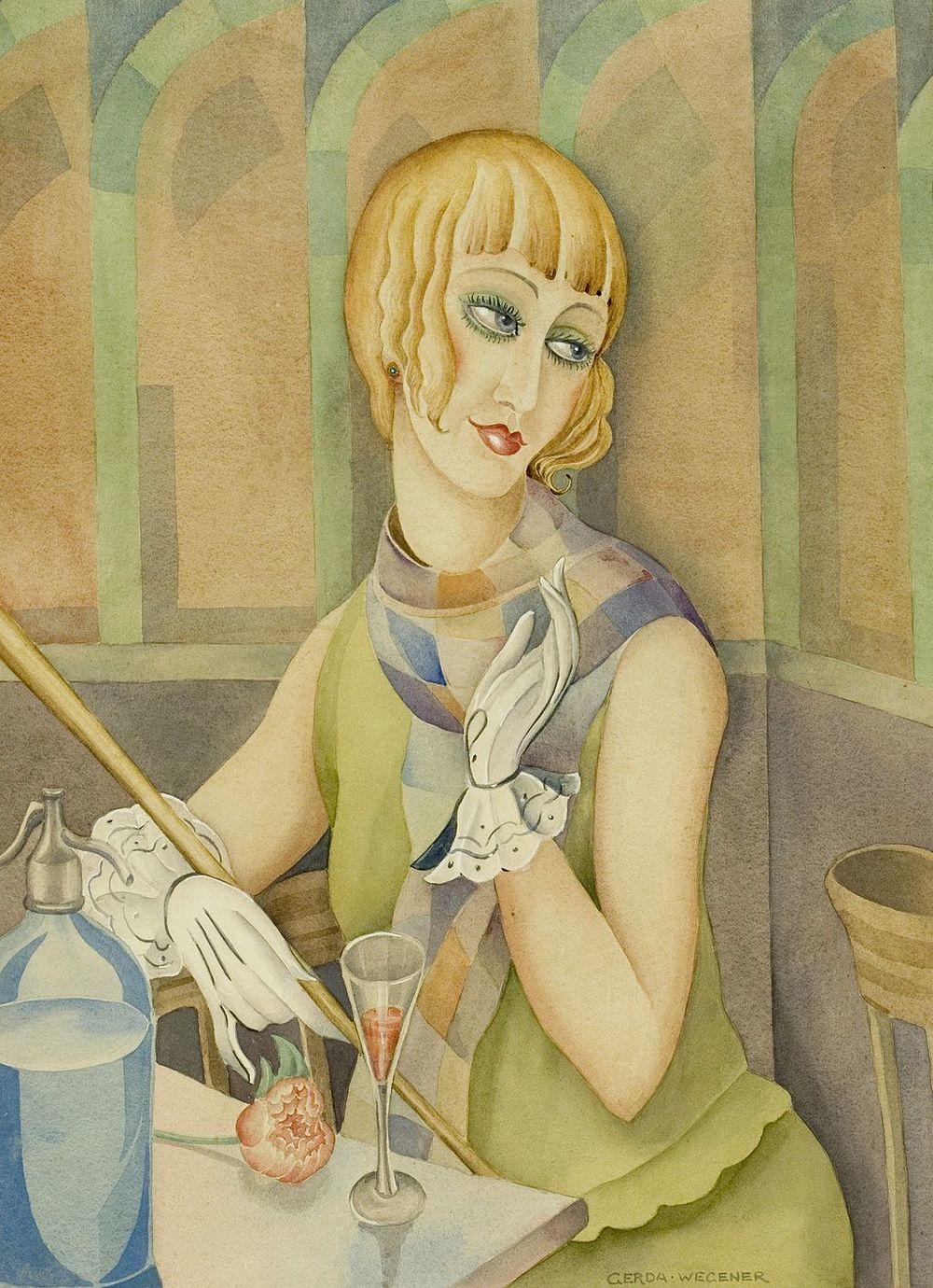 Gerda Gottlieb,Lili Elbe, 1920.wikipedia.org