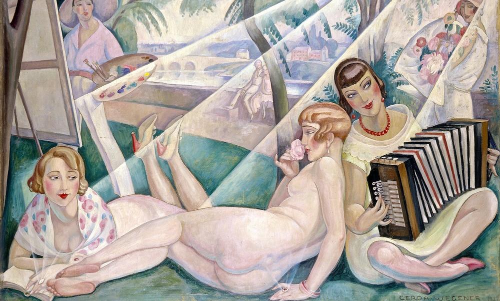 Gerda Wegener, A Summer Day , 1927.www.theguardian.com