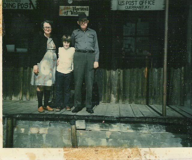 IDEAS xLab co-founder, Theo Edmonds, on the front porch of his grandparents' country store in rural Appalachia. Circa 1979.