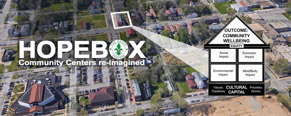 Site of Smoketown HOPEBOX now under development in Louisville, KY.