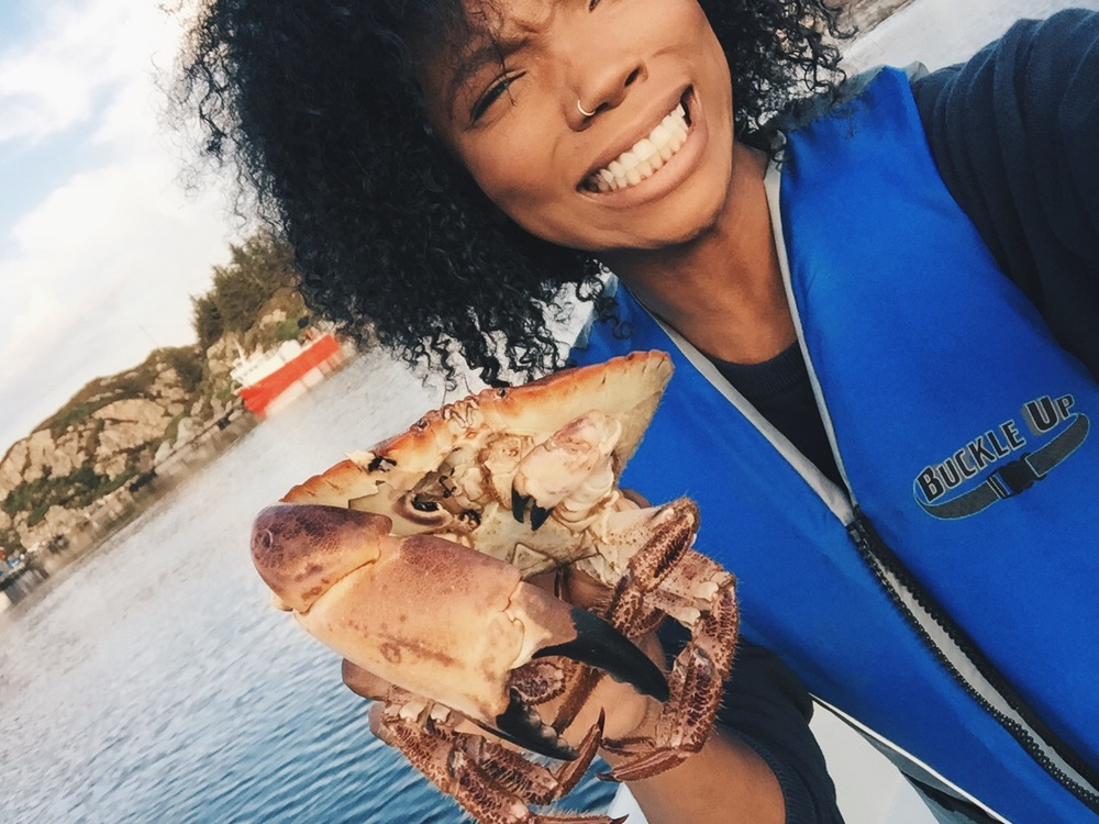 I held a live crab folks.