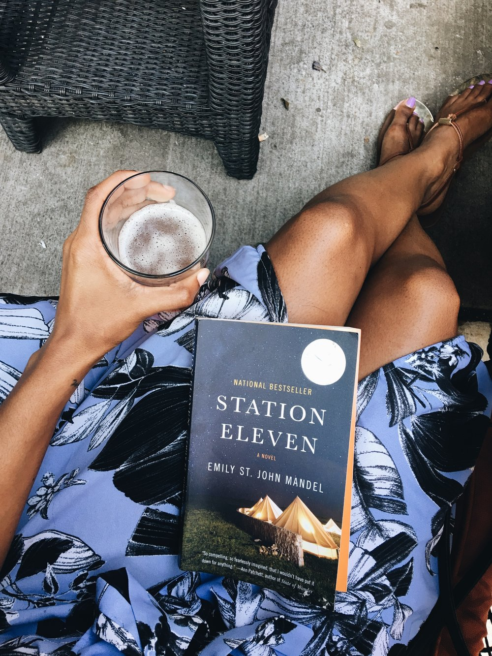 Station Eleven is an incredible, poignant compilation of humanvulnerability and strength.5/5 Beans  -