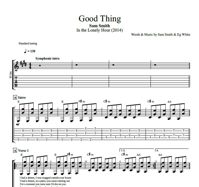Good Thing\