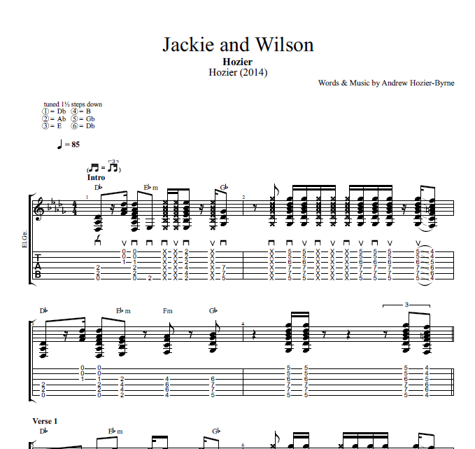 Jackie and Wilson\