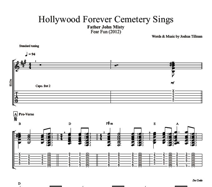 Hollywood Forever Cemetery Sings\