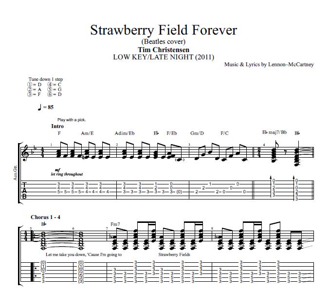 Strawberry Fields Forever\
