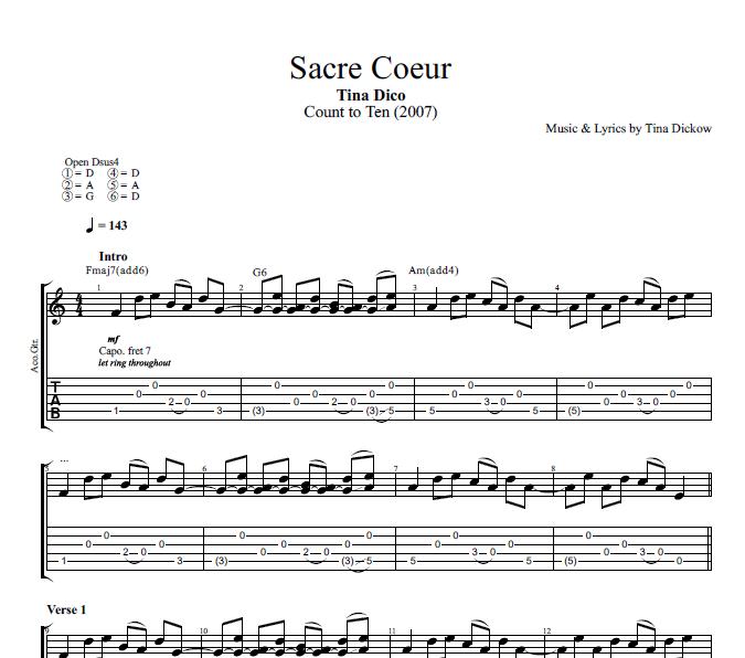 Sacre Coeur\