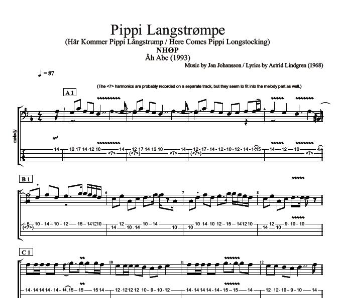 Pipi Langstrumpf Song