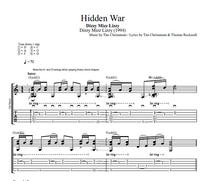 Hidden War\