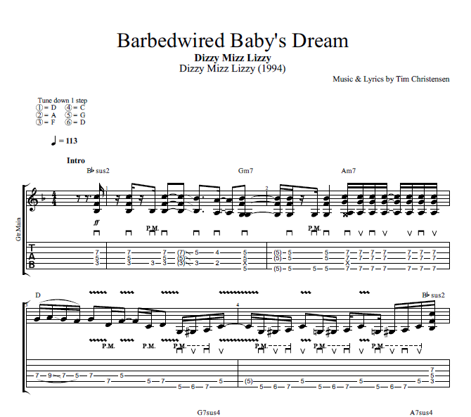 Barbedwired Baby\'s Dream\