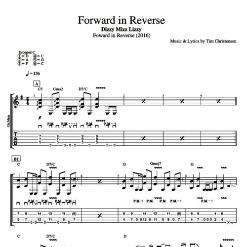 Forward In Reverse By Dizzy Mizz Lizzy Guitar Bass Tabs