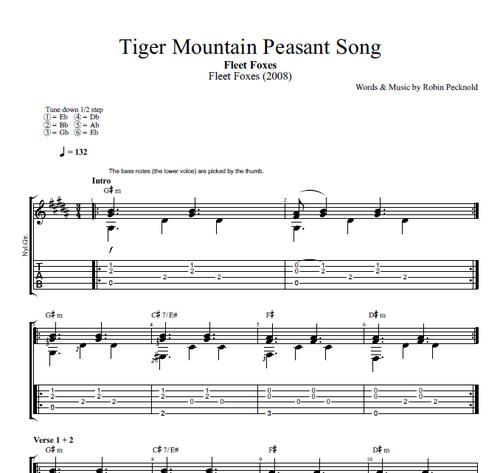 Tiger Mountain Peasant Song\