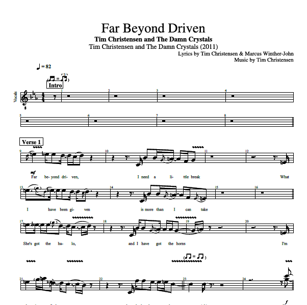 Far Beyond Driven\