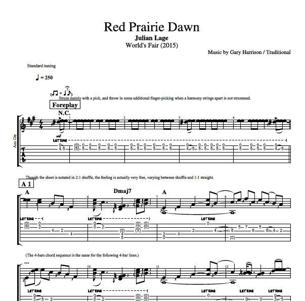 Red Prairie Dawn\