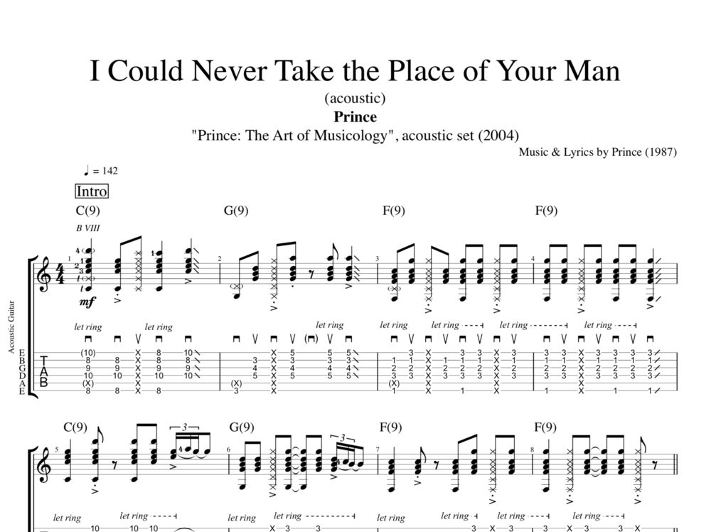 Outstanding Piano Chord When I Was Your Man Model - Song Chords ...