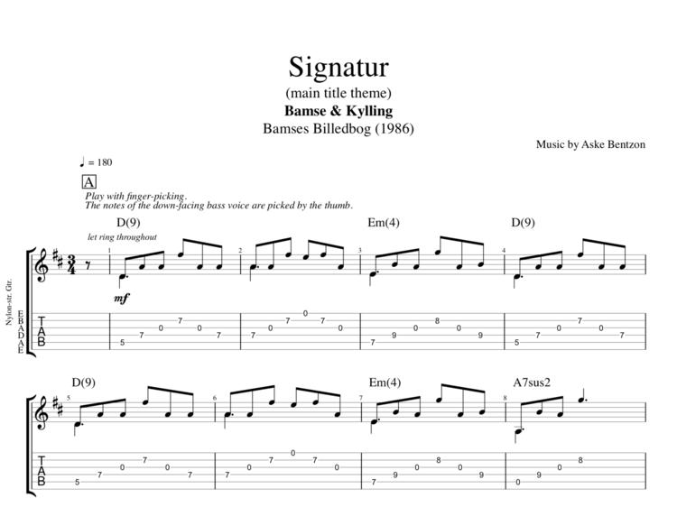 Signatur\