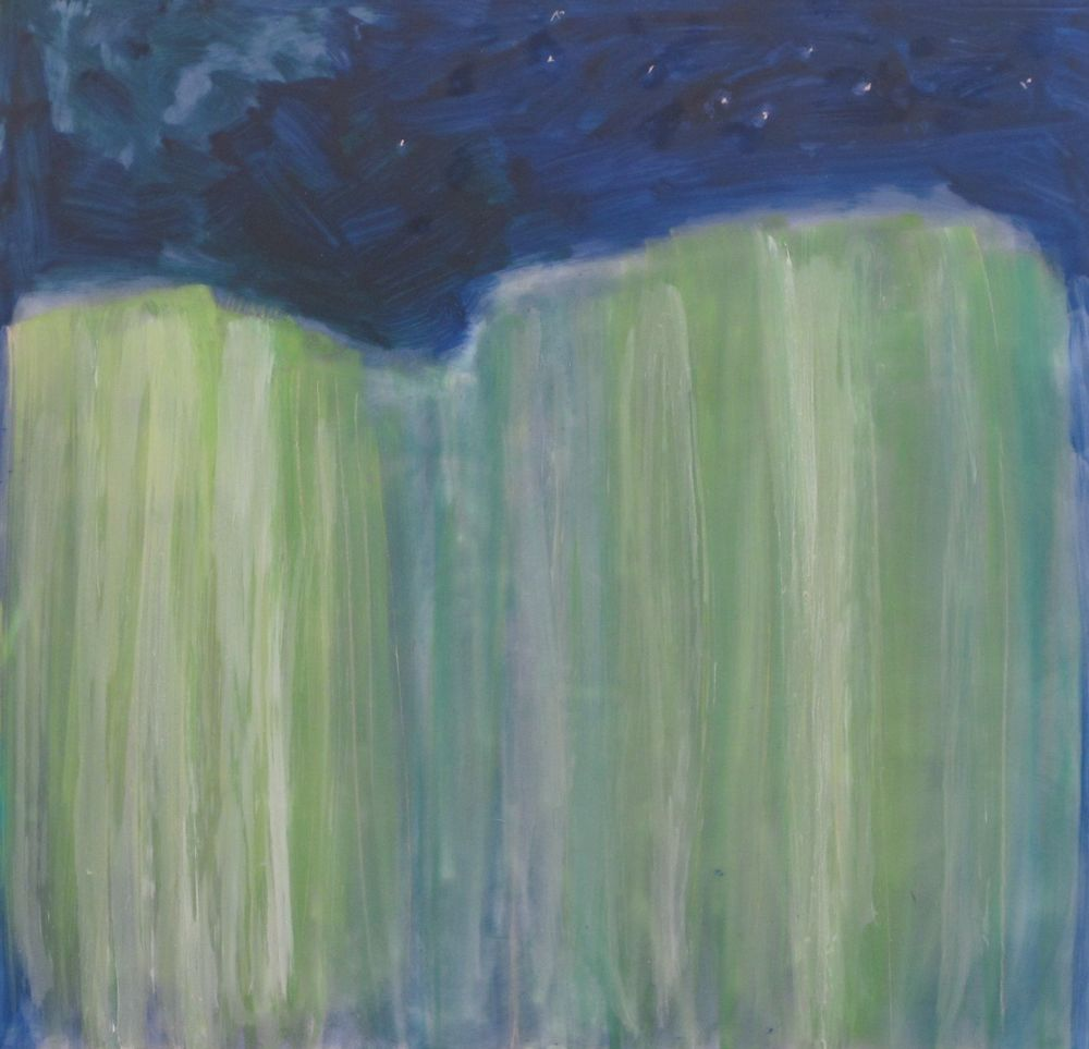 Lexan Sky Northern Lights oil on lexan 24 x 24 inches.jpg