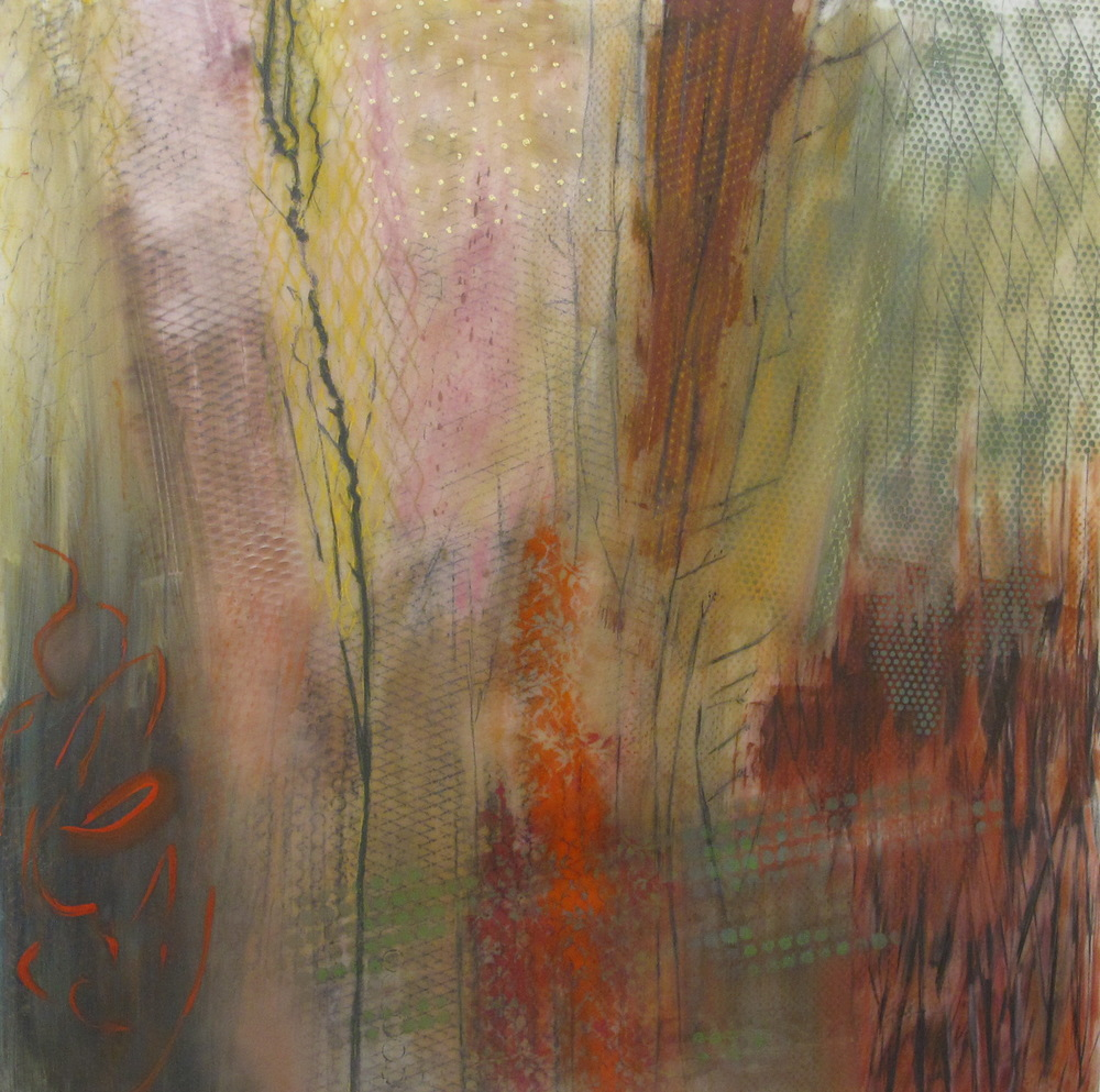 24. Earth Scape Woods oil graphite pastel spray on lexan 48 x 48 inches.jpg