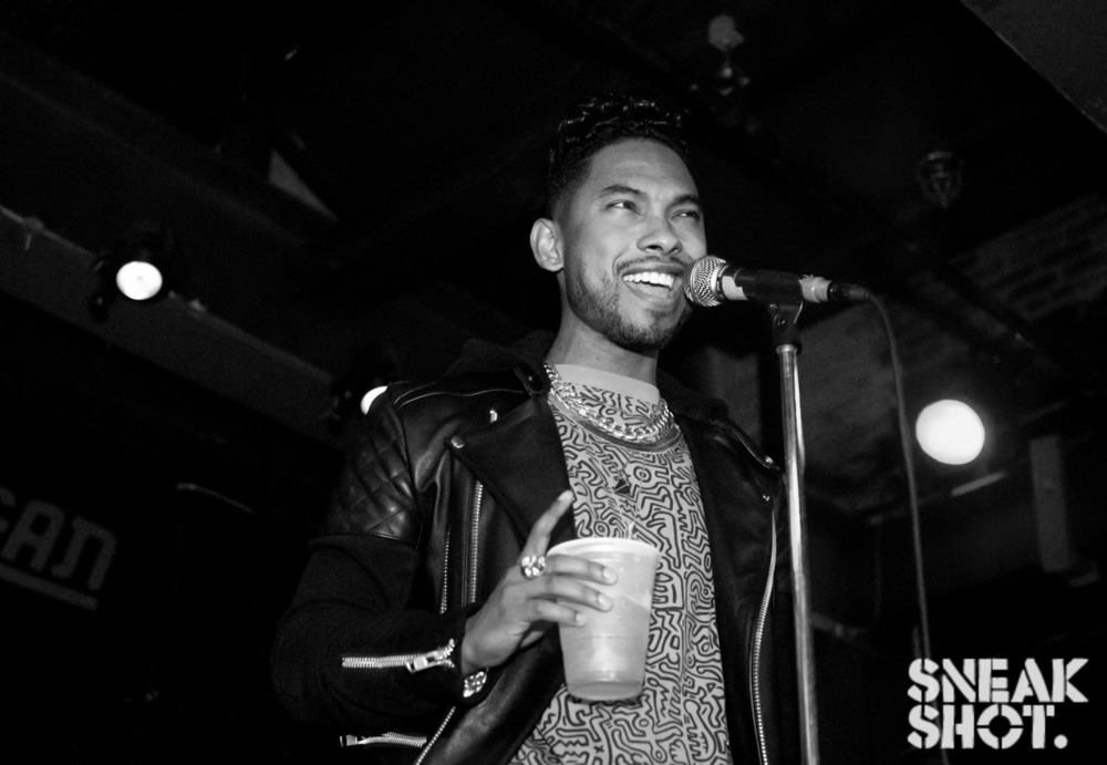 Miguel (@MiguelUnlimited) at Brooklyn Vegan's Day Party @publicassembly