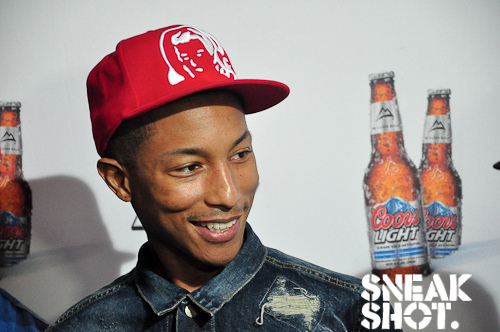 Pharrell Williams of NERD | Sonar | June 2011  on Flickr.