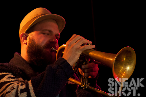 CMJ 2011 Highlight: @MilesBonny   He sings, plays the horn and is a cool cat – check him out