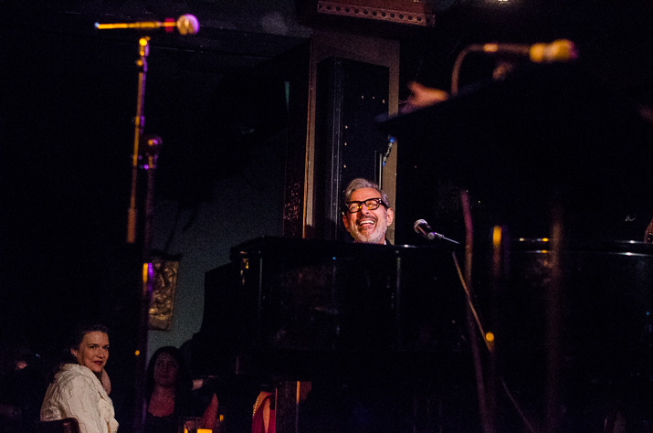 Jeff Goldblum And The Mildred Snitzer Orchestra Rockwell Table