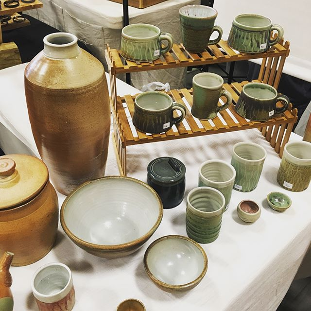 Art on the Hill continues today until 5pm and tomorrow 11-4.  #artonthehill #holidaysale #seaportland #shoplocal #pottery