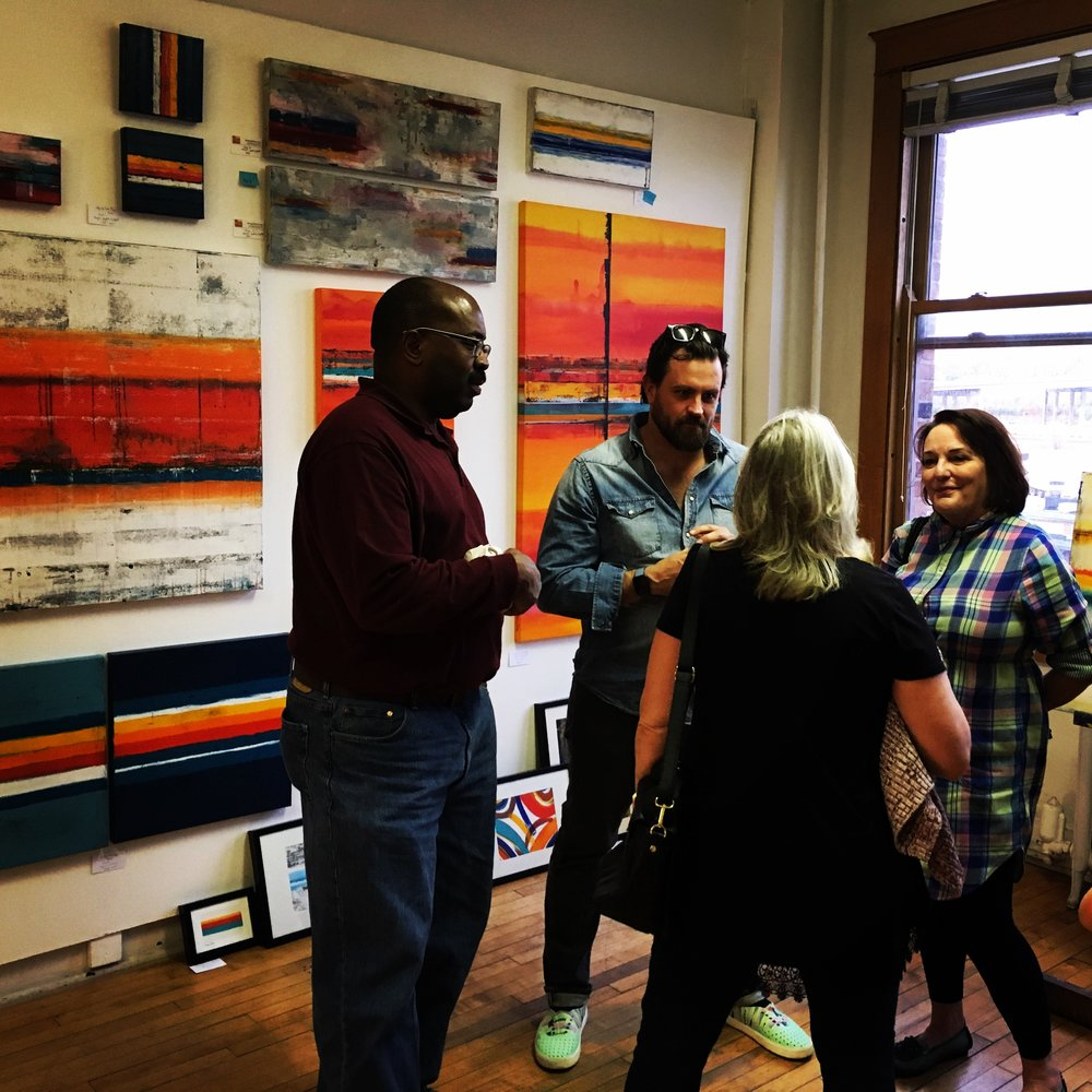 open studio, fine art, collect art